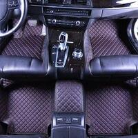Custom 3D Car Mats for Geely Atlas Emgrand EC7 Emgrand EC8 LC(Panda) X7 GX7 EX7 Eco Leather For Car Car Pad Mats