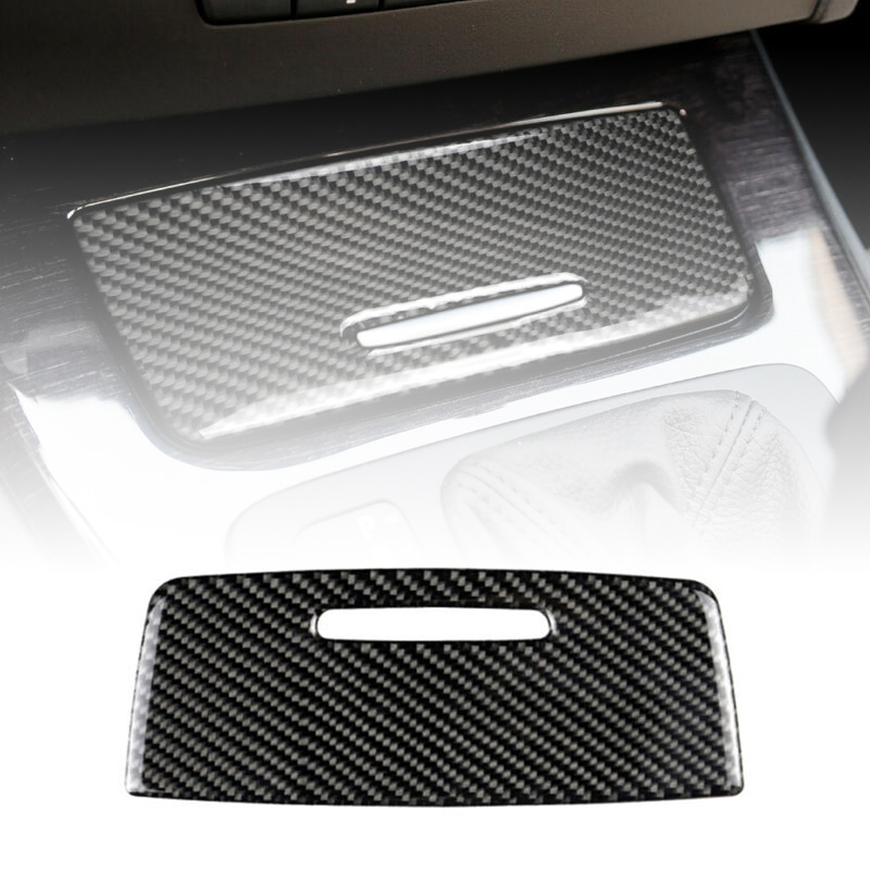 1pc New Carbon Fiber Panel Cover Trim No Fading Carbon Fiber Cigarette Lighter Panel Cover Trim For BMW 3 Series E90 E92 2005 12 in Auto Fastener Clip from Automobiles Motorcycles
