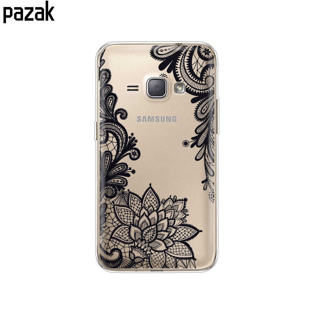 Funda de teléfono de silicona para Samsung Galaxy J1 2016 j120 J120F SM-J120F carcasa de teléfono Coque etui parachoques 360 protección completa