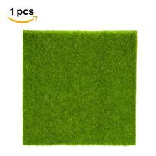 2 размера микро пейзаж поддельная искусственная трава пейзаж домашний орнамент украшение аквариума Искусственная Трава Сад