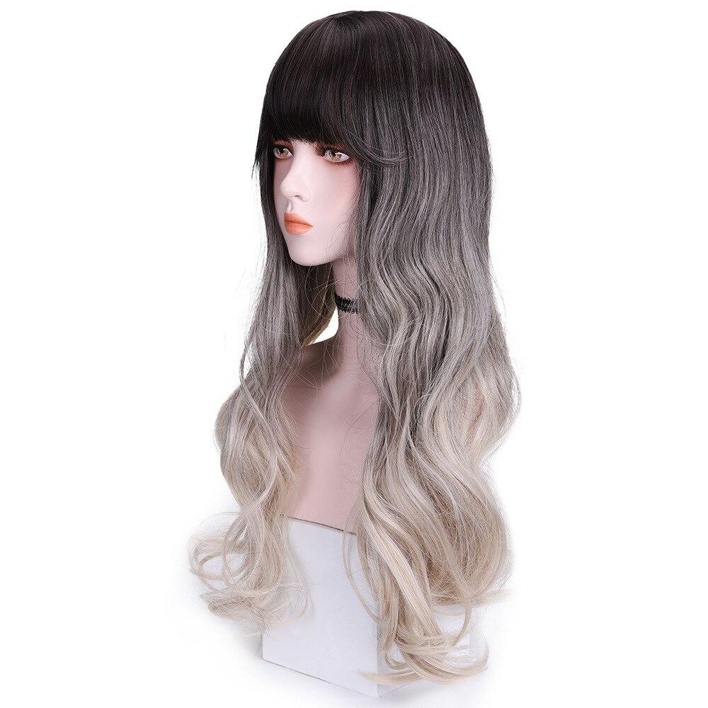 uso diário natural perucas femininas peruca