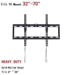 Image 4 - Универсальный настенный кронштейн для телевизора, плоский кронштейн для телевизора от 26 до 55 дюймов, светодиодный ЖК монитор