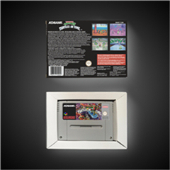 Image 2 - السلاحف IV السلاحف في الوقت المناسب EUR نسخة عمل بطاقة الألعاب مع صندوق البيع بالتجزئة