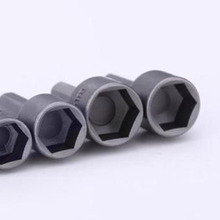 Drive Strong Magnetic Nut Driver 9 Piece Hex Bit Socket Set 1/4 Hot High Quality Durable Practical