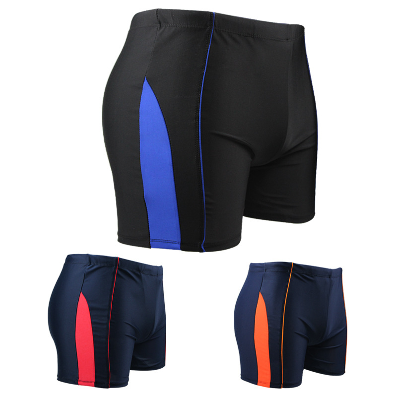 Quick-Drying Breathable Anti-Awkward Loose-Fit Hot Springs Swimming Trunks Men Beach Seaside Swimming Equipment Boxer Breathable