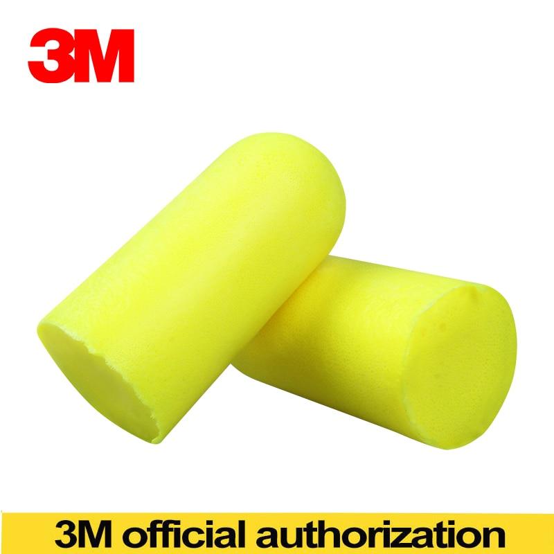 3M 311-1250 Corded Disposable Foam Ear Plugs NRR 33dB SNR 36dB