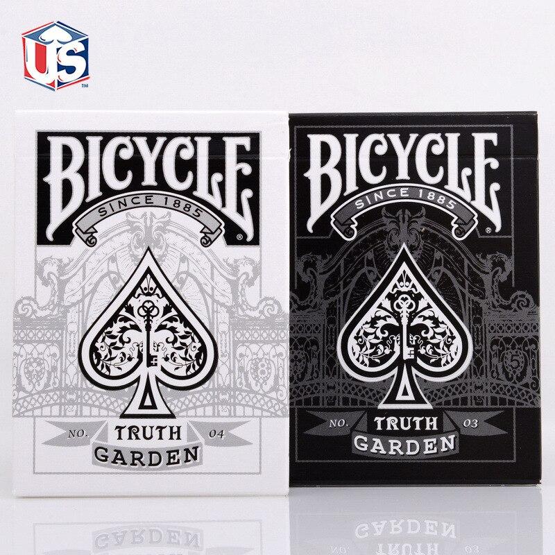 1 Палуба карты Bicycle истина сад велосипед игральные карты обычный велосипед палуба всадника обратно карты
