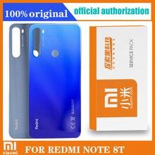 Sostituzione originale dellalloggiamento posteriore per Xiaomi Redmi note 8T Cover posteriore batteria custodia posteriore custodia con adesivo adesivo