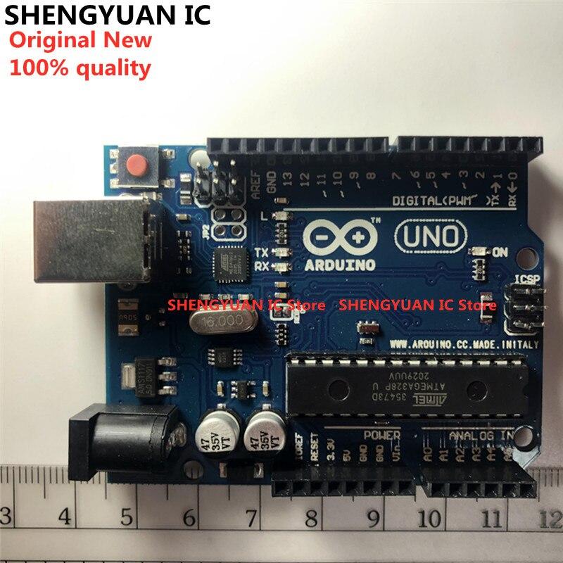 Официальная коробка UNO R3 ATMEGA16U2 + чип MEGA328P для платы разработки Arduino UNO R3 + USB-кабель ATMEGA328P ATMEGA16U2, оригинал, Новинка