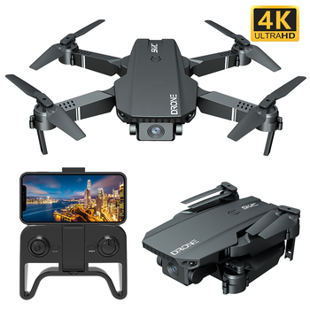 2021 New S107 Mini Drone Profession 4K HD Camera Drone Helicopter WiFi FPV Drone Real-Time Transmission RC Quadcopter toy Drone 1