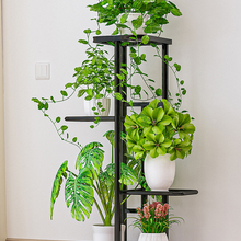 Display Shelves Holder Planter-Rack Storage-Organizer Flower-Pot Balcony 5-Potted-Plant-Stand