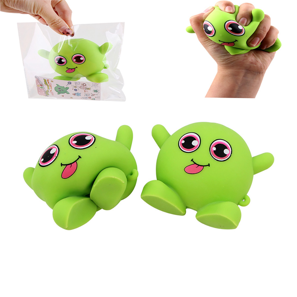 Squishy Kawaii Gigantes Soft Squeeze Toys Squishy New Product Monsters Pull Children's Decompression Toys Stretch Good GiftW801