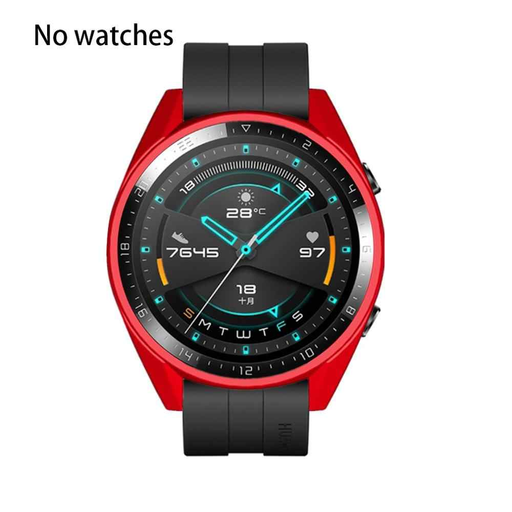 Claro tpu protetor para carros assista quadro caso capa para huawei relógio gt2 46mm relógio inteligente acessórios gt 2 escudo protetor