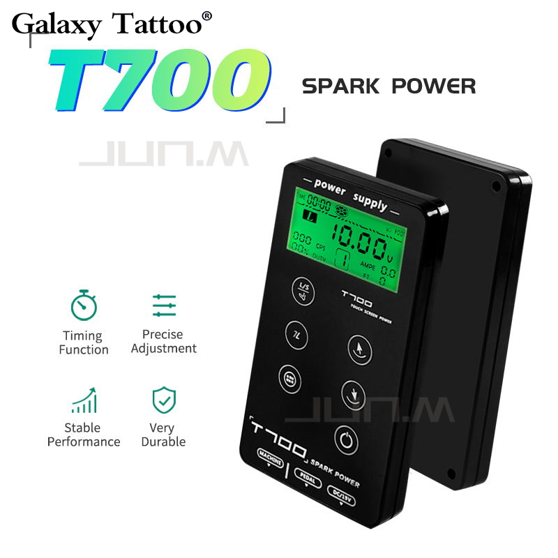 Tattoo Power Supply Fonte For Tattoo Machines Touch Screen Source T700 Digital LCD Makeup Dual Power Supplies