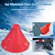 Cleaning-Tool Cone Funnel-Snow-Remover Car-Ice-Scraper-Shaped Windows Deicer Glass Outdoor