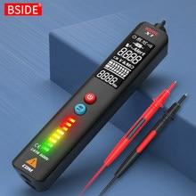 BSIDE – testeur de détecteur de tension X1, multimètre intelligent, affichage EBTN, crayon de Test de fil sous tension sans contact, voltmètre cc AC Ohm Hz