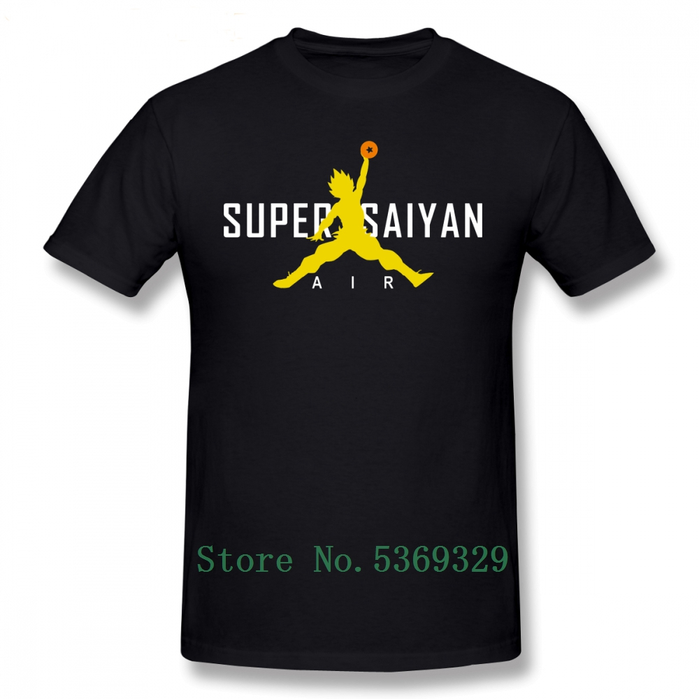 <font><b>Dragon</b></font> <font><b>Ball</b></font> Z <font><b>T</b></font> <font><b>Shirt</b></font> Air Super Saiyan <font><b>T</b></font>-<font><b>Shirt</b></font> Classic Cotton Tee <font><b>Shirt</b></font> Man Graphic Funny <font><b>5xl</b></font> Tshirt Streetwear image