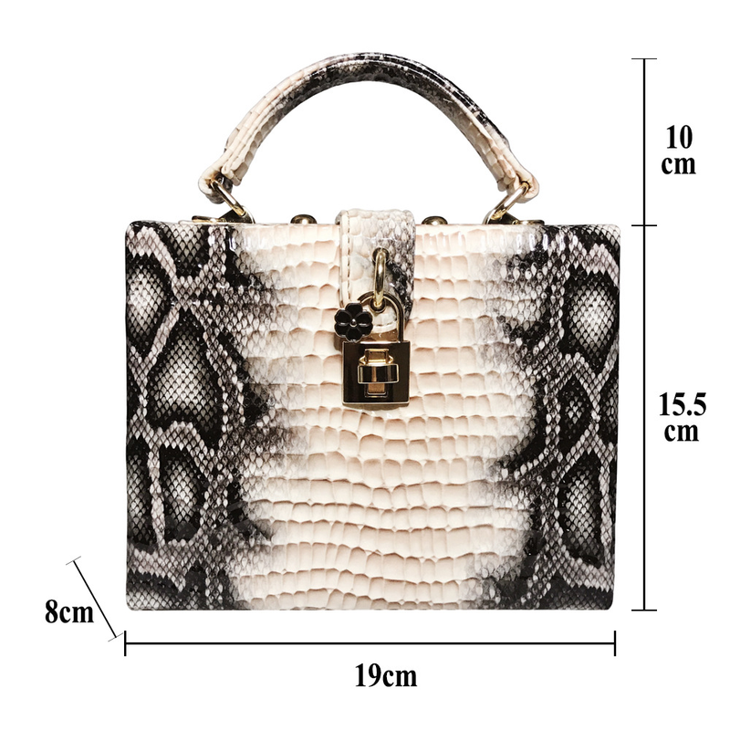 Сумка под змеиную кожу, вогнутая выпуклая сумка питона, Модная стильная сумочка, роскошная кожаная сумка для женщин, королевская женская сумка, сумки для покупок, новинка 2019