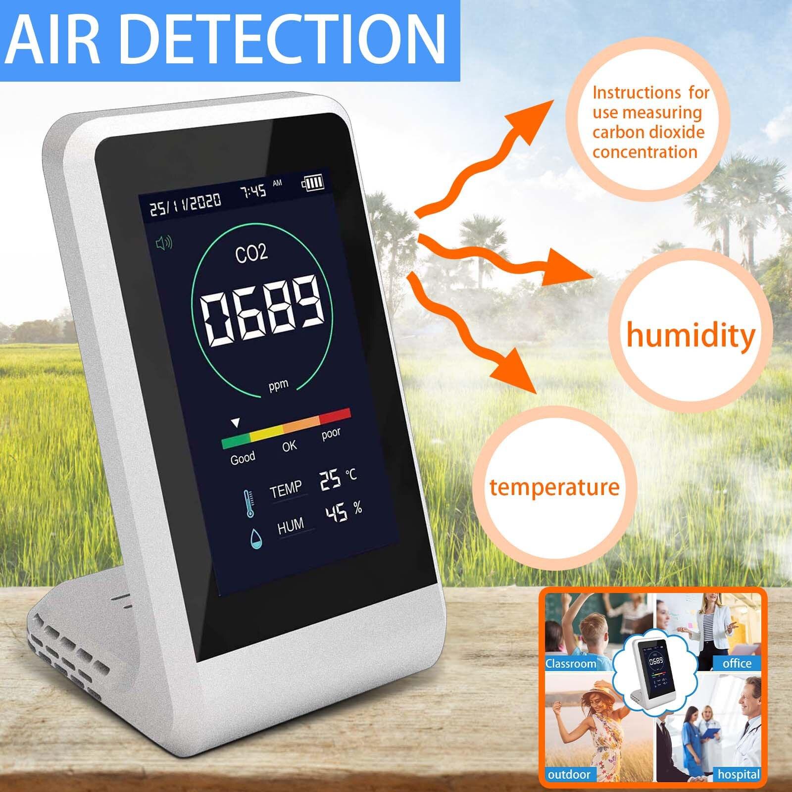 Цифровой датчик температуры и влажности углекислого газа, измеритель углекислого газа, формальдегида, Hcho, #3