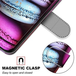 Image 5 - Flip Phone Case For Samsung Galaxy M02 M02S M12 A02 A02S A12 A32 A52 A72 5G Wallet Painted Leather Card Holder Stand Book Cover