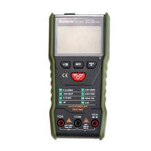 Digital Multimeter Portable Auto-ranging Smart AC/DC Ammeter Voltmeter Meter uni t ut120c auto range multitester portable digital multimeter pocket size auto range ac dc voltmeter ammeter