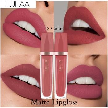 Matte Lipgloss Sexy Lip Gloss Matte Long Lasting Waterproof Cosmetic Beauty lipgloss Moisturizing Non-stick Cup Lip Makeup