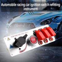 Car Racing Ignition Switch Modification Instrument Switch Accessories Start Switch Racing Power Switch Car Accessories