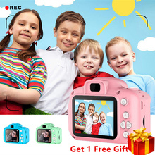 Mini Digital Camera Toys for Kids 2 Inch HD Screen Chargable