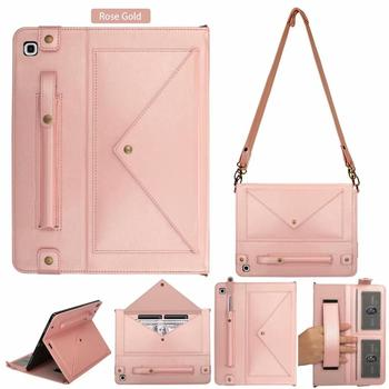 """Multifunction Shoulder Bag For Samsung Galaxy Tab S5e 10.5"""" SM-T720 T725 Case Cover Wallet Leather Tablet Case Envelope Pouch"""