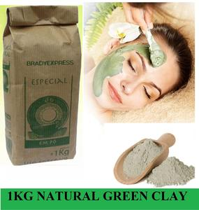 Green Clay Acne, Rashes, Blemishes Treatment, French Green Clay Pure Free Ship