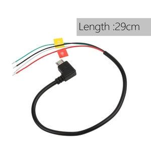 Image 5 - FPV AV Output Cable Cord for SJCAM SJ4000 SJ5000 SJ6000 DVR HD Sport Action Camera FPV Video Audio Transmitter AV Cable