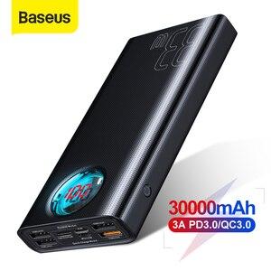 Image 1 - Baseus 30000MAh Power Bank Sạc Nhanh 3.0 USB PD Sạc Nhanh Dự Phòng Powerbank Di Động Gắn Ngoài Bộ Pin Cho Smartphone Laptop