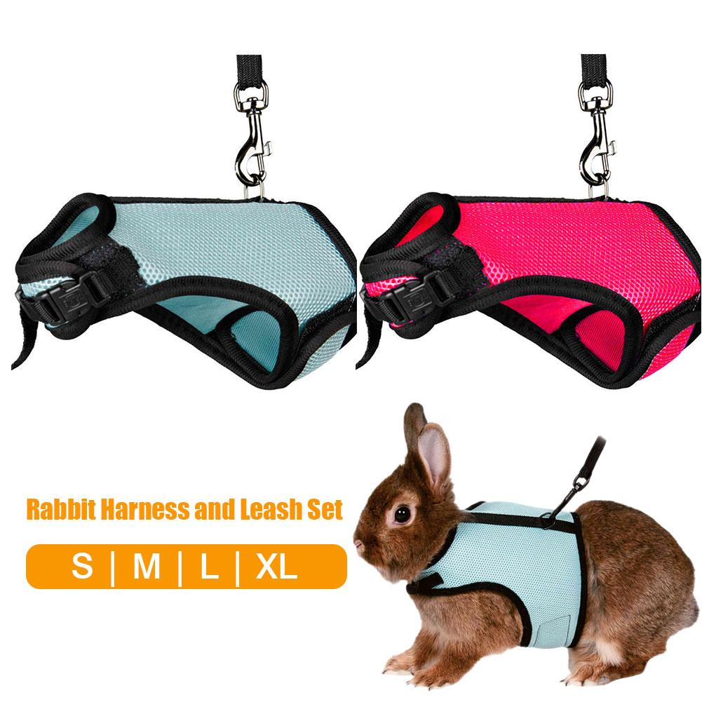 Женский комплект с поводком, жилет для хомяка, шлейка для кролика, сетка, набор для хорька, морской свиньи, мелких животных
