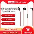 100% Оригинальный Nubia рамка RedMagic Игровые наушники Тип-C наушники 3,5 мм наушники для смартфона Nubia гарнитура для рамка RedMagic 5S 5G