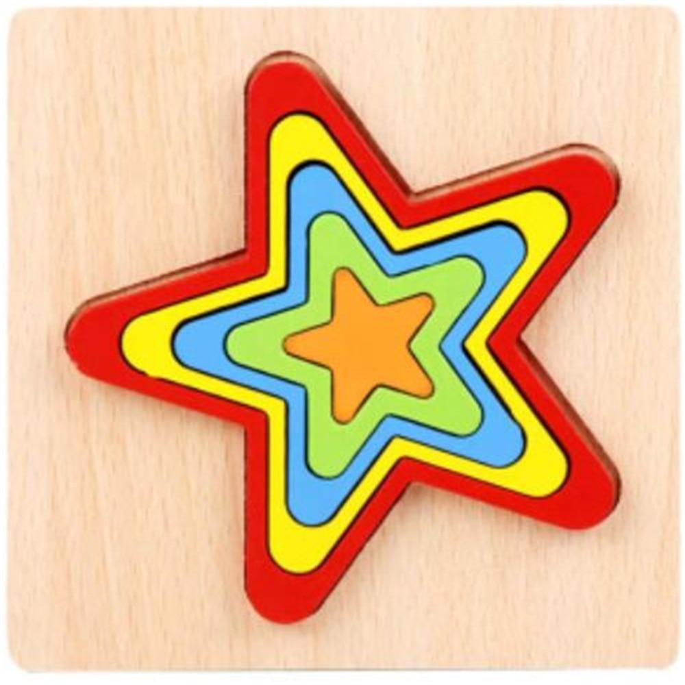 Montessori Cartoon Animal Educational Wooden Beaded Geometry Digital Clock Puzzles Gadgets Matching Clock Toy For Children 18