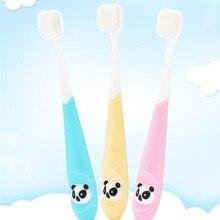 Baby Toothbrush Soft-Bristle Mouth-Clean Kids Children's Cartoon Training