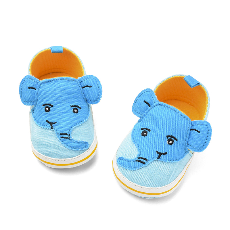 Toddler Cartoon Elephant Baby Shoes Boys Girls Casual Sneakers Unisex Slippers First Walkers Infant Newborn Baby Girls Shoes