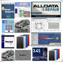 Alldata 2021 venda quente 10.53v reparação software mit -- chell od5 vívida oficina atsg elsa-win 49 em 1tb hdd usb3.0 reparação de automóveis allda