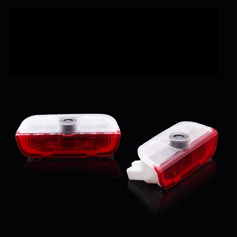 2x led luzes de boas-vindas para porsche 991 992 996 997 para macan 3d laser lâmpada sinal da porta do carro