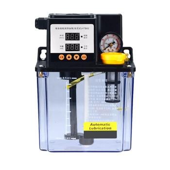 1pc 110V 1L 1 Liters lubricant pump automatic lubricating oil pump 2L 2 Liters cnc electromagnetic lubrication pump lubricator
