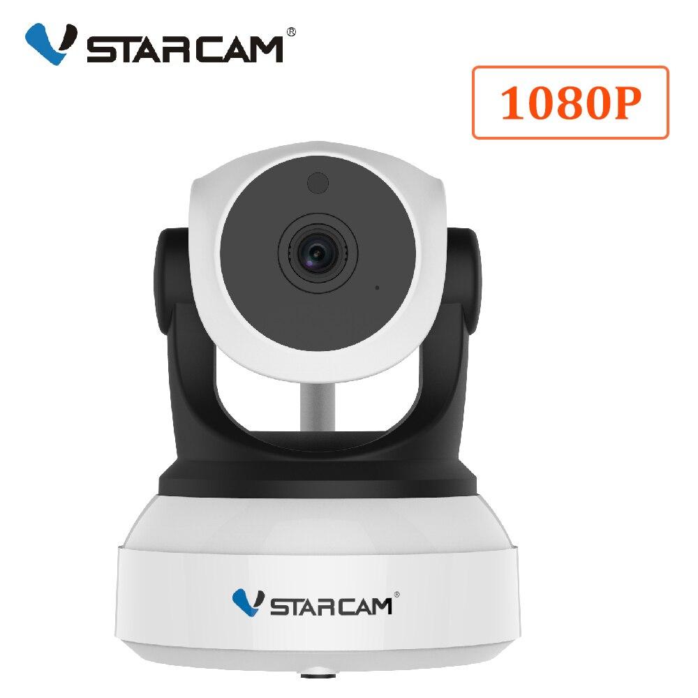 VStarcam C24S 1080P HD caméra IP de sécurité sans fil WifiI ir-cut Vision nocturne réseau d'enregistrement Audio moniteur bébé d'intérieur
