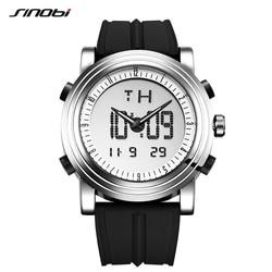 Sinobi Men's Digital Quartz Watch Multifunctional Chronograph Wristwatch for Male Sport Waterproof Clock Relogio Masculino