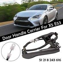 Maniglia per Porta Alloggiamento 51218243615 51228243635 per X5 E53 anteriore destro