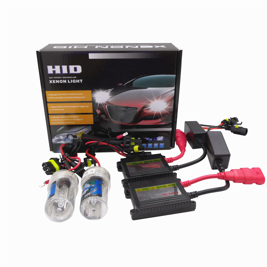 Xenon H7 Hid Kit 55W H1 H3 H4 Xenon H7 H8 H10 H11 H27 HB3 HB4  9005 9006 Car Light Source Xenon