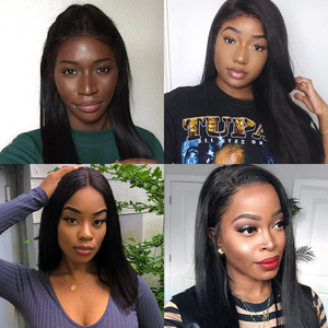 Image 5 - Peruvian Straight Human Hair 3 Bundles With Frontal Pre Plucked Julia Remy Hair 13*4 Ear to Ear Lace Frontal with Hair Bundles