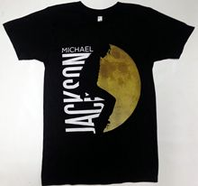 Michael Jackson MOONWALKER MOONWALKING T-Shirt NEW Licensed & Official New Men Cotton