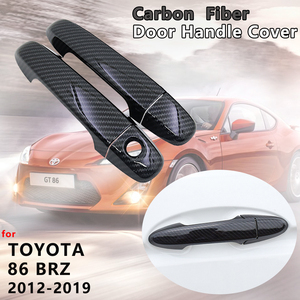 Carbon Fiber Door Handle Cover Catch Car Accessories for Toyota 86 GT86 FT86 Subaru BRZ 2012 2013 2014 2015 2016 2017 2018 2019