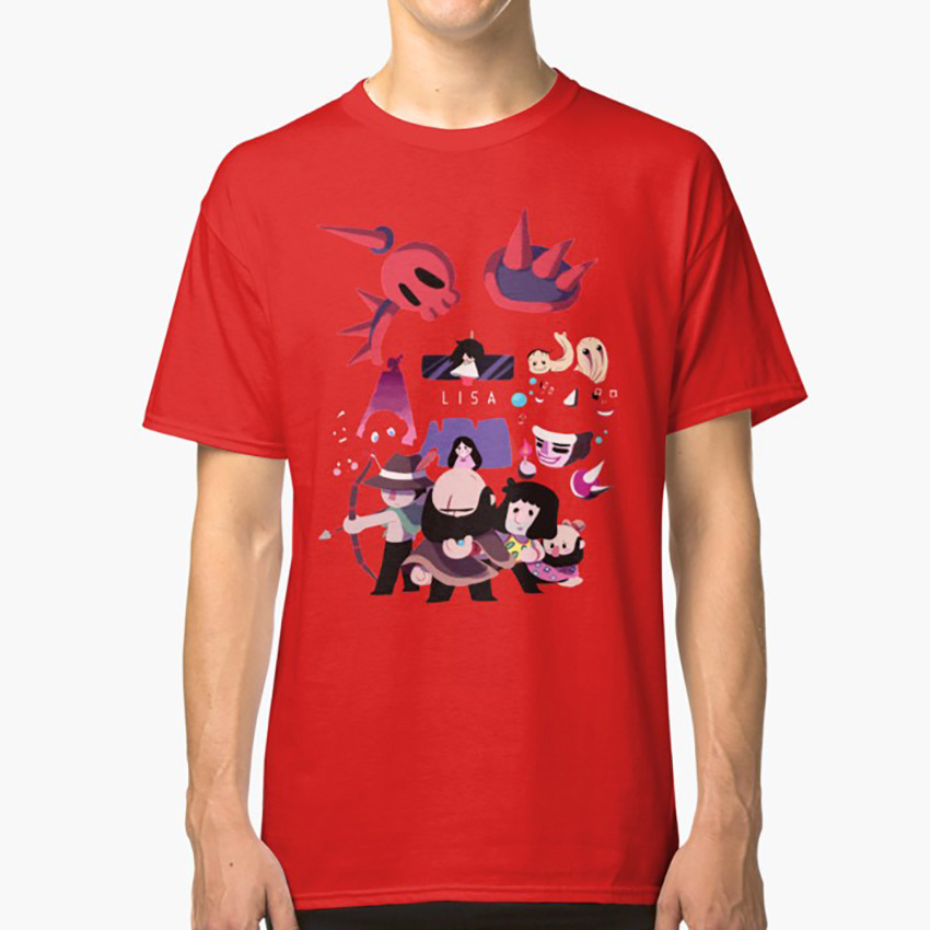 Lisa The Painful T Shirt Lisa The Painful Lisa The First Lisa The Joyful Rpg Maker Mother Earthbound Bradley Armstrong Buddy image