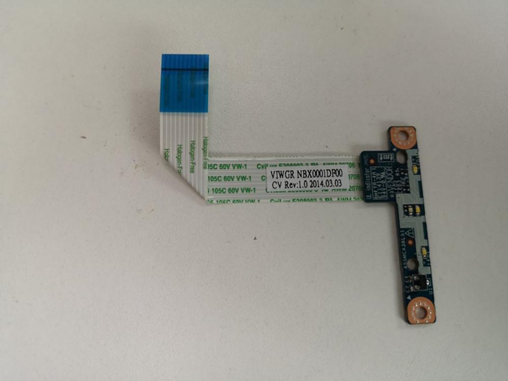 Новинка для Lenovo IdeaPad G500 G505 G510 светодиодная плата с кабелем LS-9635P