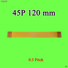 Cltgxdd 60mm 120mm 45pin ffc/fpc 12cm passo 0.3mm 45 p cabo plano flexível para ttl lcd lvds mipi fpc conector(China)